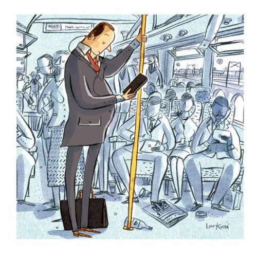 Adam Larkum Ilustrador internacional de caneta e tinta. Reino Unido