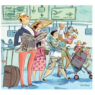 Illustration Modern stereotypes for Sunday Telegraph