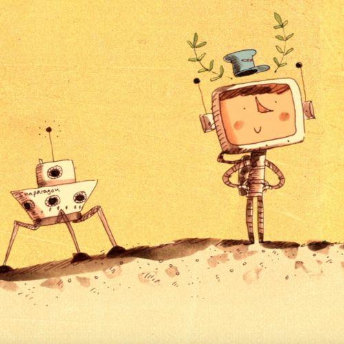 View Adam Larkum's animation portfolio