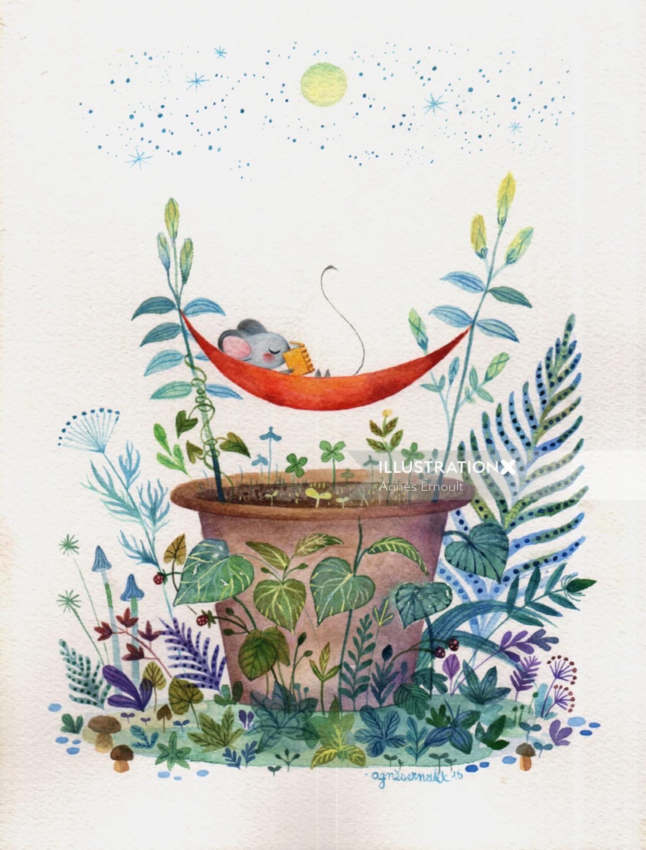 Children book Bedtime stories for Galerie Curiosites