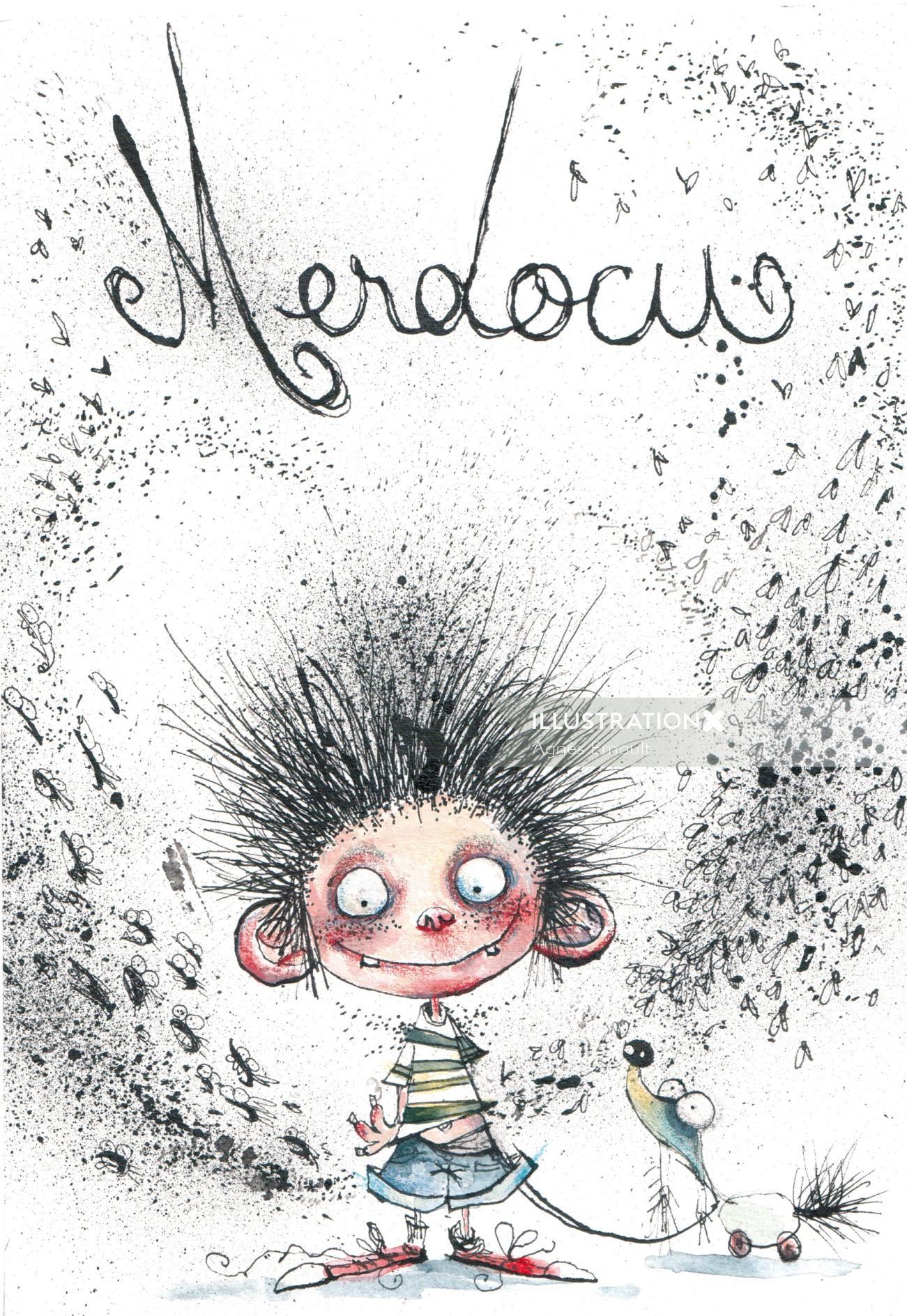 Album cover design of Merdocu