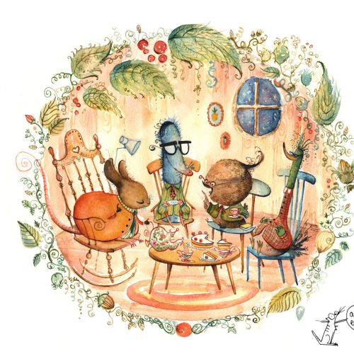 Agnès Ernoult Diseño de personajes