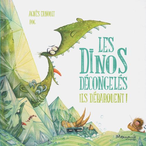 Book illustration of les dinos decongeles