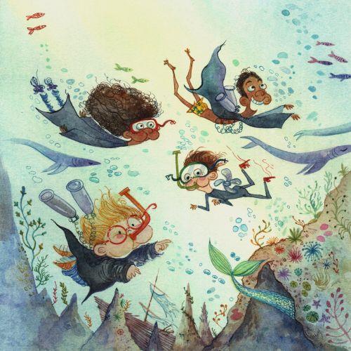 Agnès Ernoult Ilustrador de livros infantis, editorial e estilo de vida. França