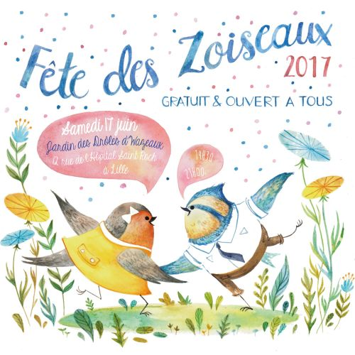 Book cover illustration of Fete Des Zoiscaux