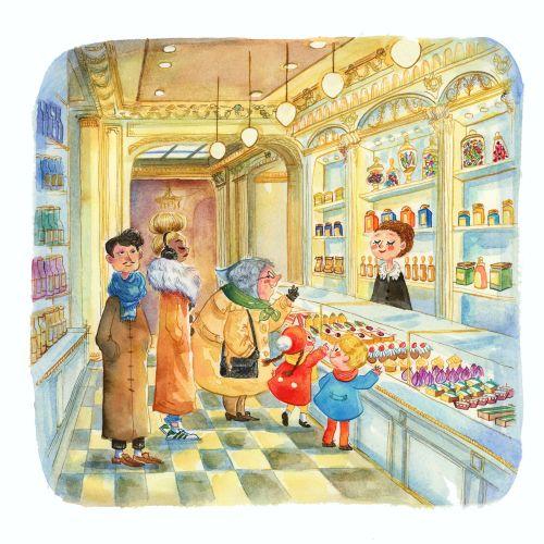 Agnès Ernoult Illustrator for Children's Books, Editorial and Lifestyle. France