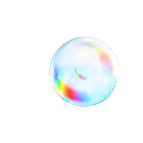 Animation of floating bubble