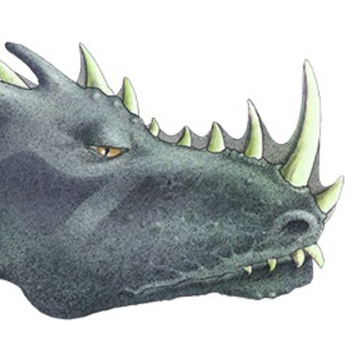 Portrait of monster animation