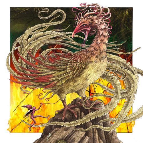 Fantasy art of Phoenix