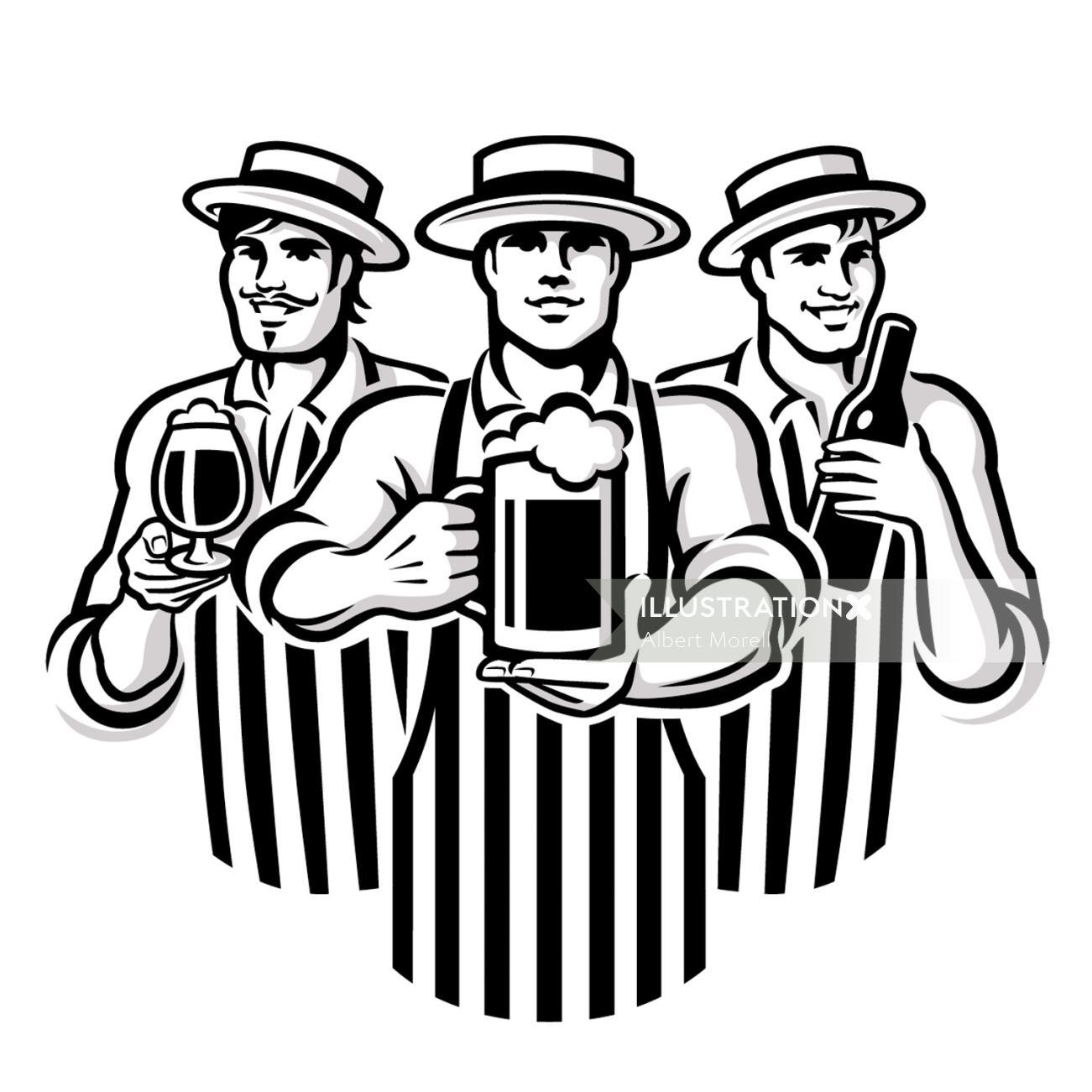 British Pub Logo Design