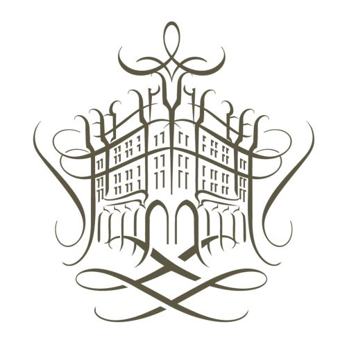 Fragrance house Line art logo