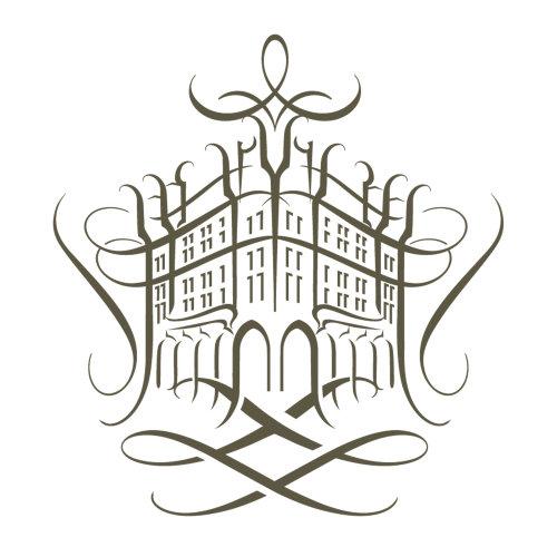 香水屋线艺术徽标