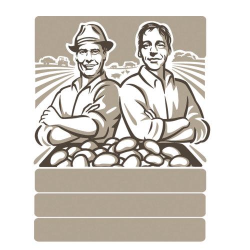 土豆片品牌徽标