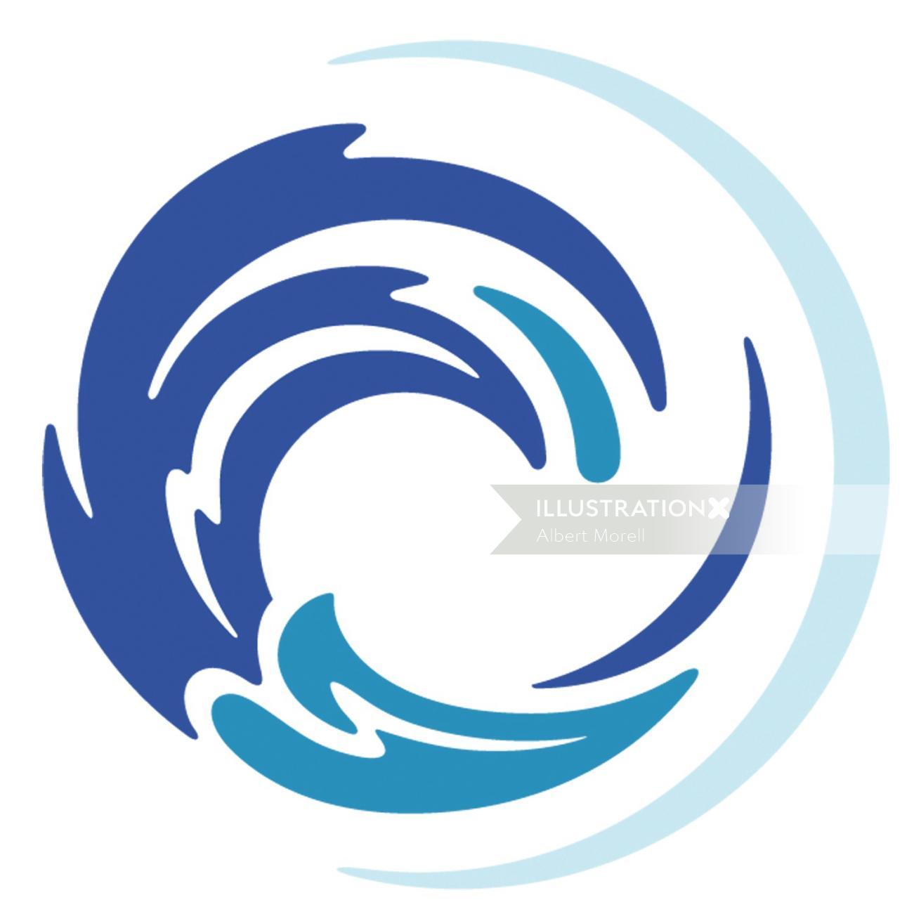 Sea food brand Logo design
