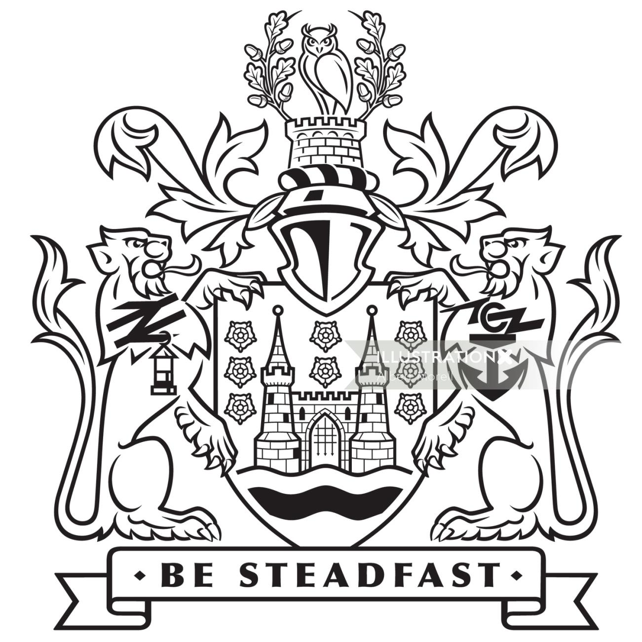 coat of arms logo design