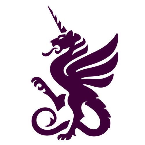 Dragon illustration logo