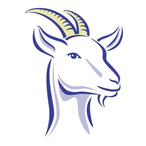 山羊说明徽标