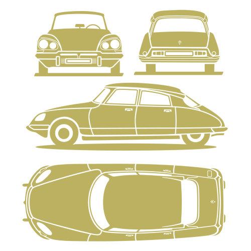 雪铁龙汽车蓝图设计