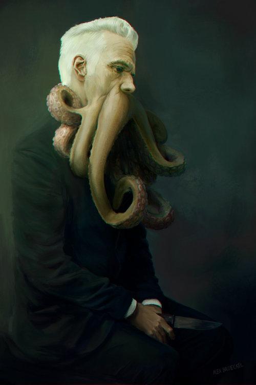 Peinture numérique d'Octoman