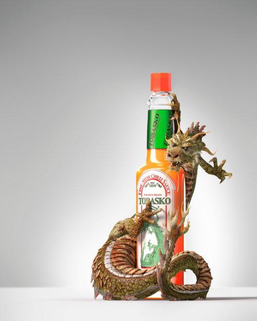 Illustration pour la sauce torasko par Alex Broeckel