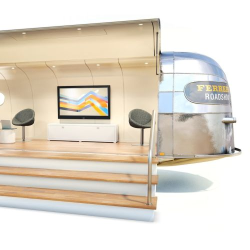 3d illustration of campher van