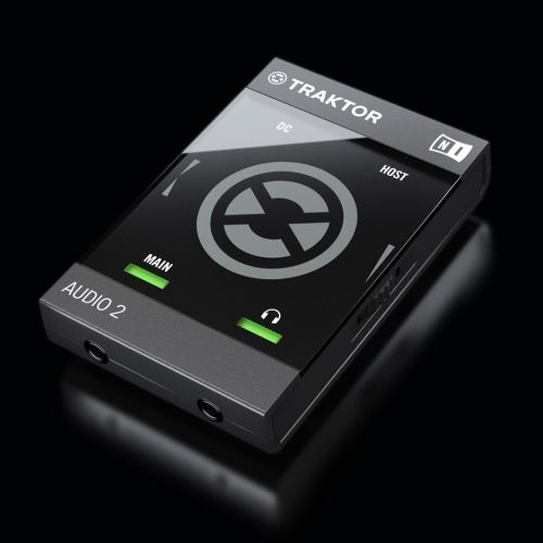 3d illustration of Traktor audio