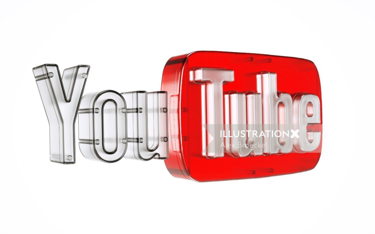 3d lettering youtube