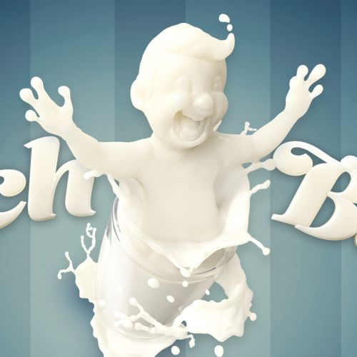 3d character design Milch Bubi