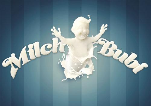 3d character design Milch Bubi