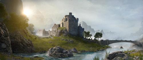 3d nature of a palace