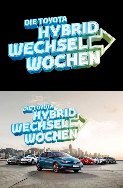 Diseño de letras en 3D por Alex Broeckel Ilustrador