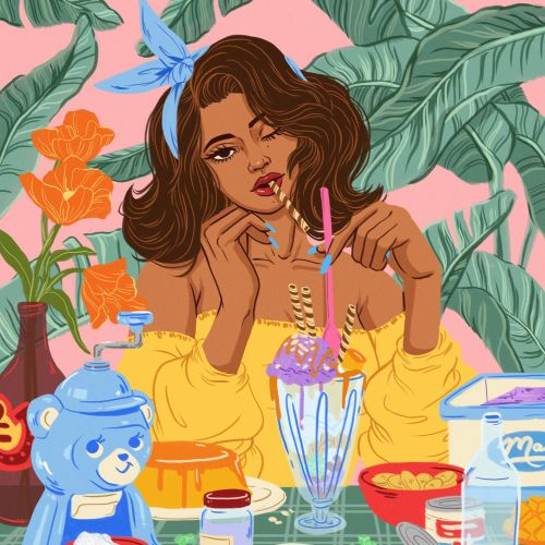 Alex Cabal LA-based fashion & beauty illustrator