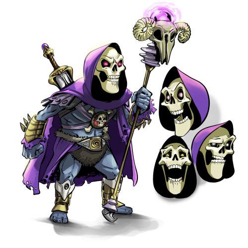 Desenho de personagem do homem diabo