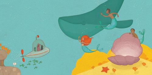 animals in the submarine