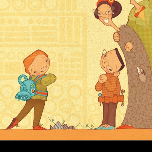 Alexandra Ball: Story Starters illustration