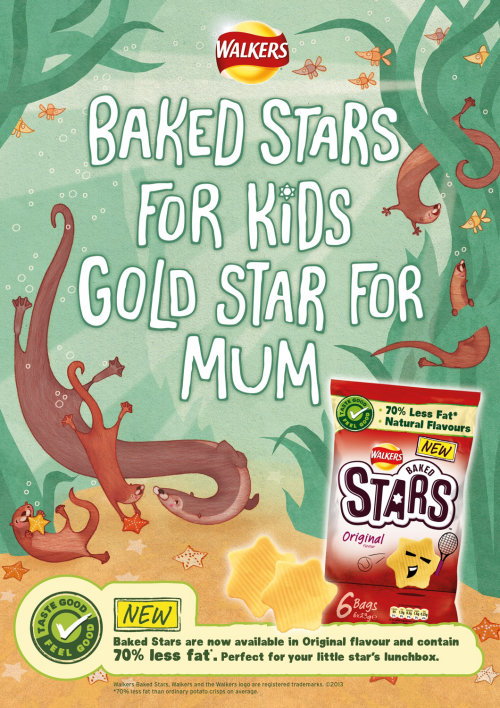 Cover Art for Walkers Baked Starson