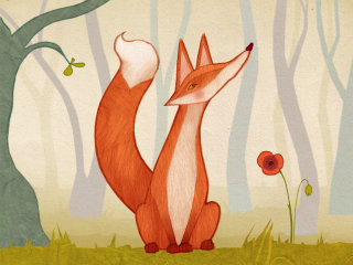 Alexandra Ball: The Animals Of Mossy Forest App: Fox
