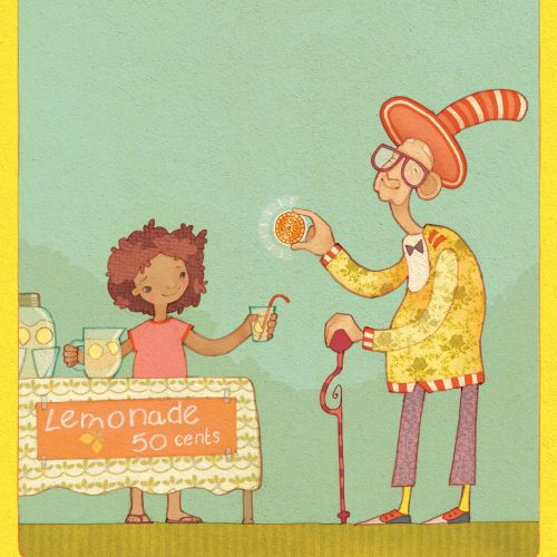 Alexandra Ball: Story Starters - Lemonade