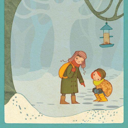 Alexandra Ball: Story Starters - Snow tracks