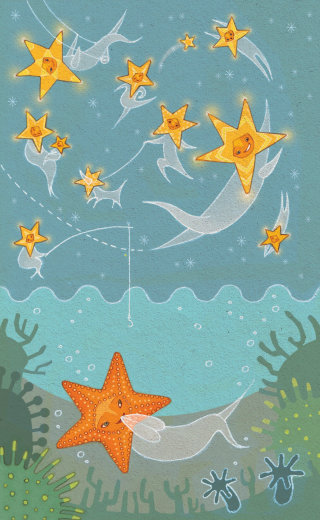Alexandra Ball: Princess Cruises - Star Illustration