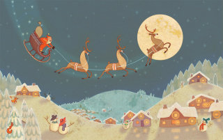 Alexandra Ball: Arko Advent Calendar Illustration