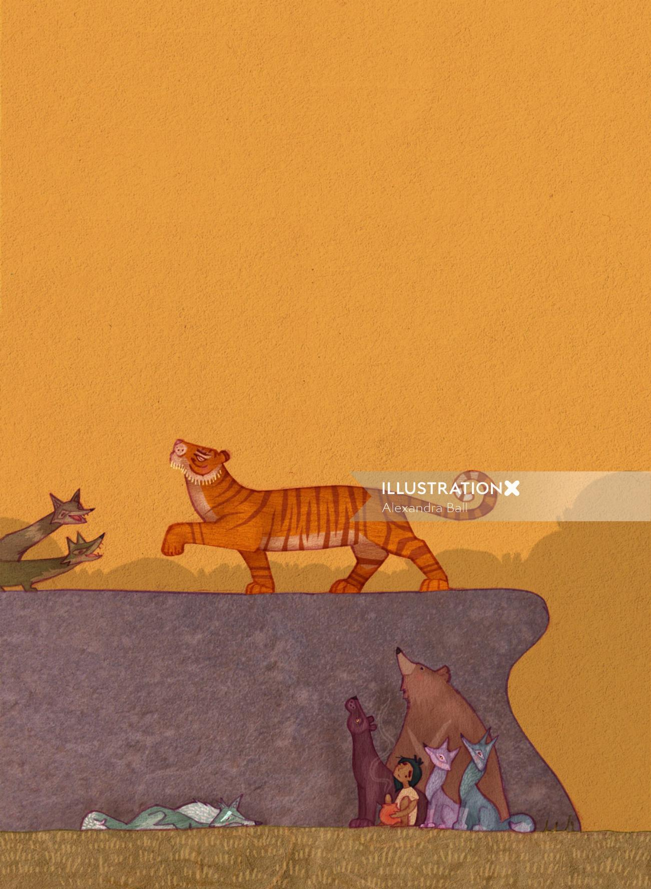 The Jungle Book-Shere Khan Struts