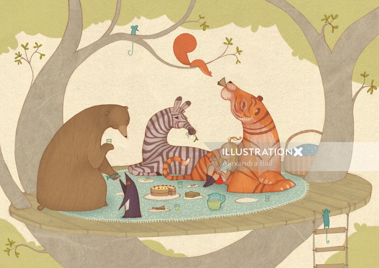 Wild animals | Animal illustration collections