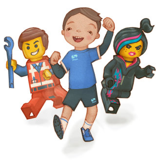 Character illustration of kids