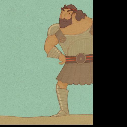 An illustration of Goliath