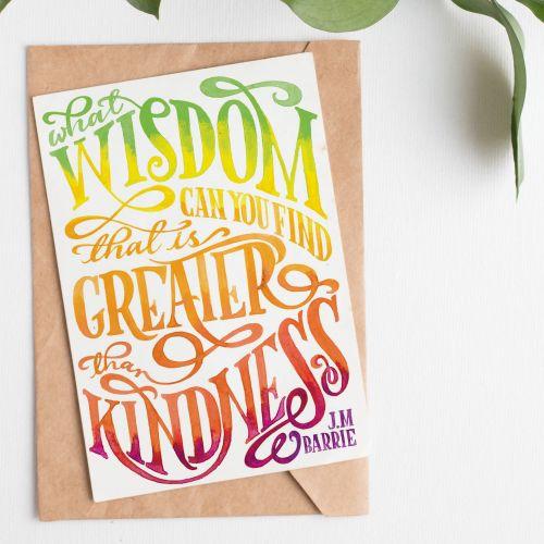 Nice & Sweet lettering illustration