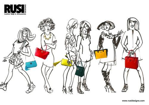 Arte finala para senhoras da moda