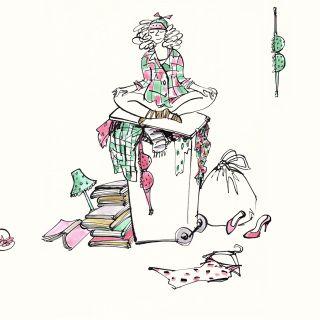 Alyana Cazalet - International expressive line illustrator. London