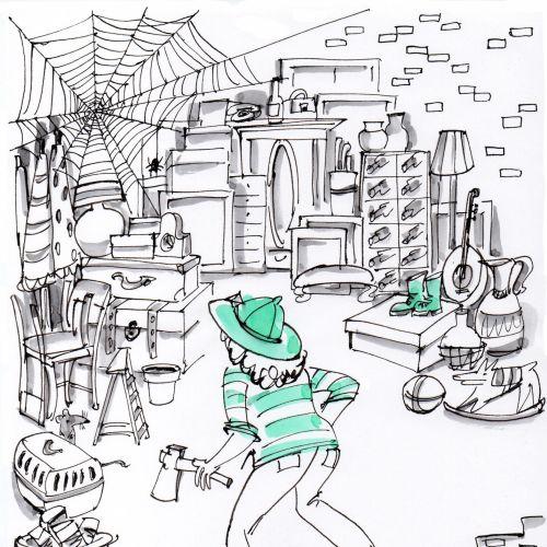 Alyana Cazalet Ilustrador de linhas expressivas internacionais. Londres