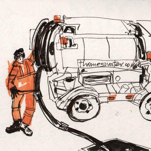 Alyana Cazalet Ilustrador internacional de líneas expresivas. Londres